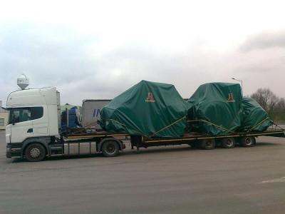 pojazd cieżarowy tir 43