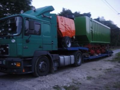 pojazd cieżarowy tir 57