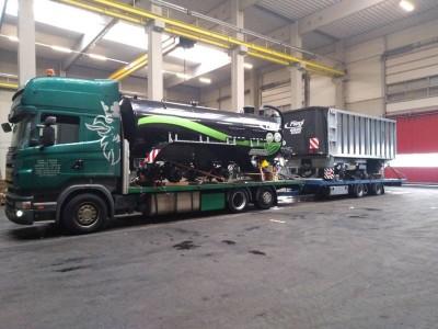 pojazd cieżarowy tir 1