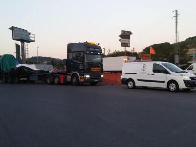 pojazd cieżarowy tir 12
